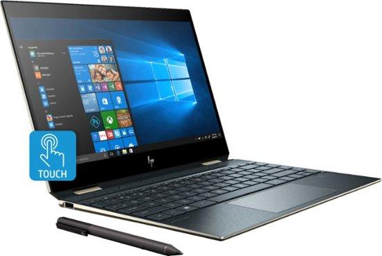 """HP SPECTRE X360 13-AP0023DX (4WT85UA#ABA) 13,3"""" 4K TOUCHSCREEN NOTEBOOK 2 IN 1 SILVER"""