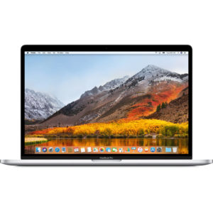"""Apple MacBook Pro MR972E/A 15.4"""" with Touch Bar - 2.6Ghz 6-core 8gen. Core i7 up 4.3Ghz/16GB/512GB - Español - SILVER"""